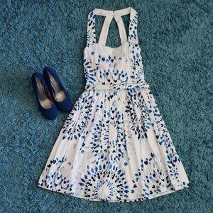 Cute white/blue dress